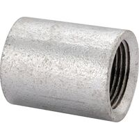 "1 1/4"" Galvanized Merchant Coupling"