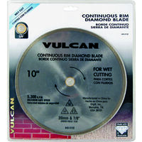 Diamond Continuous Rim Circular Saw Blade, 10""