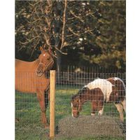 Red Brand 70314 Tradition Non-Climb Horse Fence With Square Deal Knot