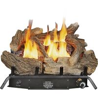 Dual Fuel Gas Logs with Thermostat, 18""
