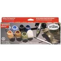 MILITARY FLAT ENAMEL PAINT SET