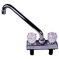 American Hardware RV-035B Deck Faucet 8 in Spout