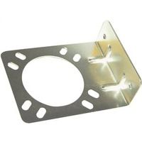 American Hardware RV-354C Mounting Block, Steel, Zinc Plated