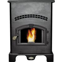 USSC KING WOOD PELLET STOVE 120LB HOPPER 2,200 SQ FT