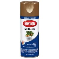 Krylon Metallic Spray Enamel, Brass