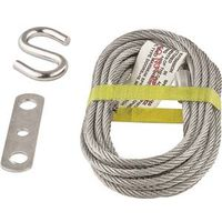 Stanley 730700 Lift Cable with S-Hook and Joiner Clip 14 ft L
