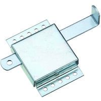 Garage Door Side Latch, Zinc