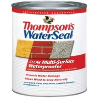 Thompson&#39;s Water Seal Multi-Surface Exterior Waterproofer, 1 Qt