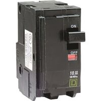 Plug On 2 Pole Circuit Breaker, 20 Amp