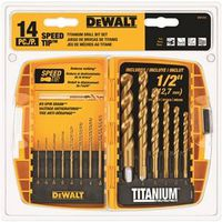 Dewalt DW1341 Speed Tip Drill Bit Set