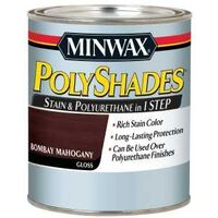 Minwax Polyshades Interior Wood Stain, 1 Qt Gloss Natural Cherry