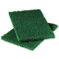 Heavy Duty Scouring Pads Green