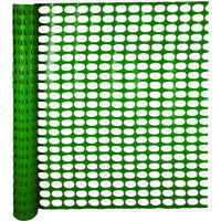 GREEN SNOW GUARD FENCE 4X100