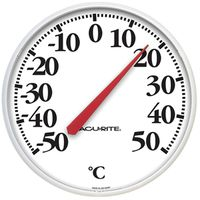 AcuRite 01593CA Weather Resistant Dial Thermometer