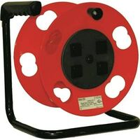 Crank Cord Extension Cord Reel with Breaker