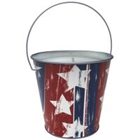 Stars&Stripes Citronella Candle, 5in