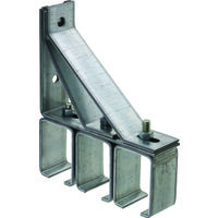 TRIPLE BOX RAIL BRACKETS GALV