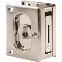 Prime-Line Deluxe Pocket Door Privacy Lock With Pull