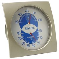Taylor 5504 Weather Resistant Humidiguide/Thermometer