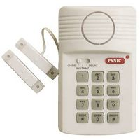 Westek SEC400 Magnetic Wireless Door/Window Alarm With Entry Keypad