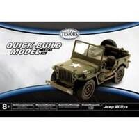 Jeep Willys Model Car Kit, 1:32 Scale
