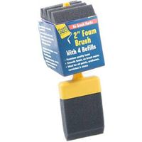 BRUSH FOAM WITH 4 REFILLS 2IN