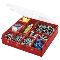 Stack-On SBR-13 Storage Box With Removable Dividers