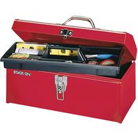 Stack-On R-516-2 Hip Roof Tool Box 16 in W x 7 in D x 7-1/2 in H