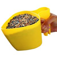 FEEDER BIRD SCOOP PLASTIC