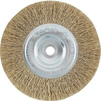 "Coarse Wire Wheel Brush, 2 1/2"" Brass"