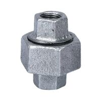 "1/8"" Galvanized Ground Joint Union"
