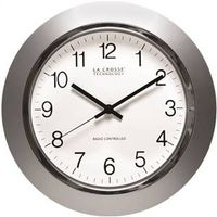 LA Crosse WT-3144S Atomic Wall Clock