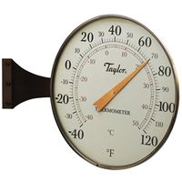 Taylor 480BZ Easy-To-Read Weatherproof Analog Thermometer