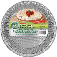 Eco-Foil Large Pie Pan 3Pack - Case of 12