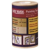 "Easy Mask Paint Tape, 3 3/4"" x 75'"