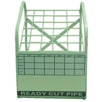 PIPE NIPPLE DISPLAY RACK WHITE