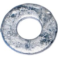 "Galvanized Flat Washer, 1/4"" 746 Pk"