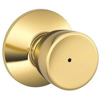 Schlage Bell F40 Tulip Flat Ball Door Knob Lockset