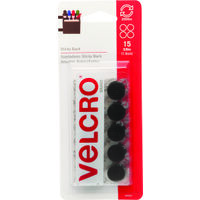 "Velcro Cirlces, 5/8"" Black"