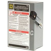 Square D L111N Fusible Light Duty Safety Switch