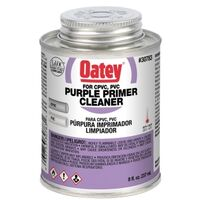 CPVC & PVC Primer Cleaner, 8 oz
