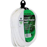 Wellington 16365 Solid Braided Rope
