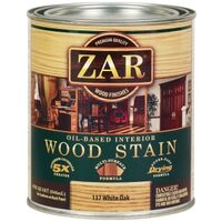 Zar Wood Stain, 1 Qt White Oak