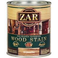 Zar Wood Stain, 1 Qt Colonial Pine
