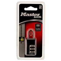Master Lock 646D Compact Resettable Combination Padlock