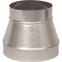 Imperial GV1196 Gray Metal 311P Stove Pipe Reducer
