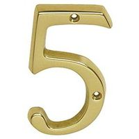 Schlage SC2-3056-605 #5 Classic Traditional House Number