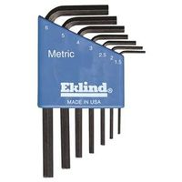 Eklind 10507 L Handle Short Arm Hex Key Set