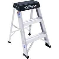Aluminum Type 1 Step Ladder, 2'