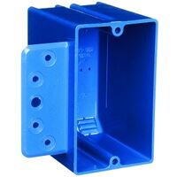 Single Gang PVC Switch Box